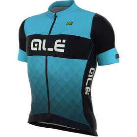 Alé Cycling R-EV1 Rumbles Koszulka kolarska, krótki rękaw Mężczyźni niebieski/czarny